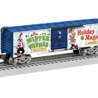 Lionel Trains Goofy Happy Holidays Boxcar