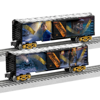 Lionel Trains The Polar Express Boxcar 2-Pack