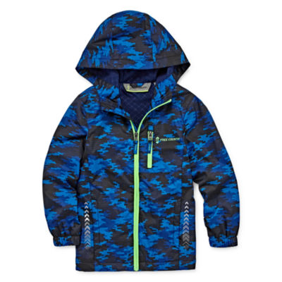 Free Country Water Resistant Windshear Jacket- Boys- Preschool 4-7