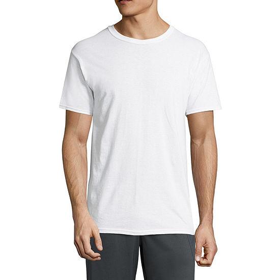 Hanes® Men's ComfortBlend® Cotton 4-pk.+ 2 Bonus Pack Short Sleeve Crew