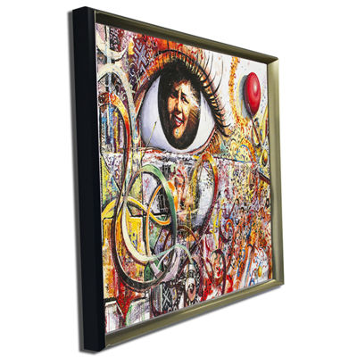 Designart Street Art In Asilah Village Graffiti Canvas Art Print