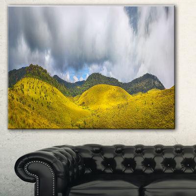 Designart The Horton Plains Landscape Painting Canvas Print - 3 Panels