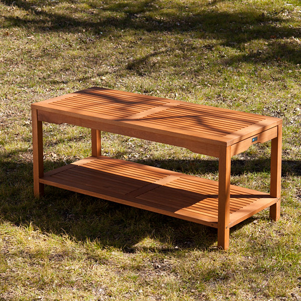 Southern Enterprises Catania Patio Console Table
