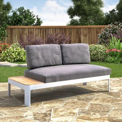 Daylight Furniture Outdoor Convertible Loveseat