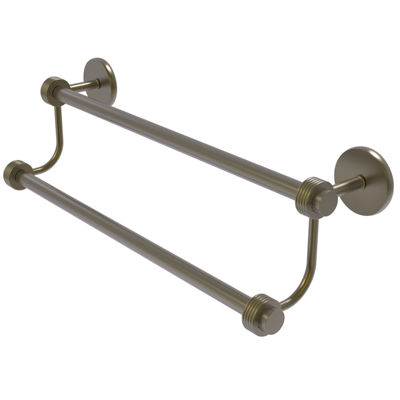 Satelite Orbit Two Collection Double Towel Bar With Groovy Accents