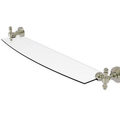 Allied Brass Retro Wave 24 IN Glass Shelf