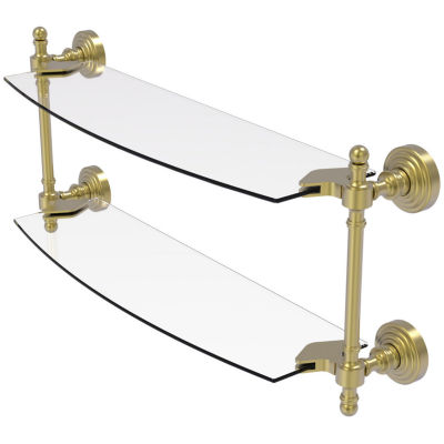 Allied Brass Prestige Skyline Collection 30 Inch Towel Bar With Integrated Hooks