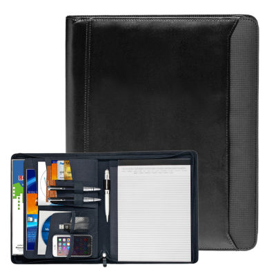 Natico Originals Padfolio Zipper 12.5x10.25