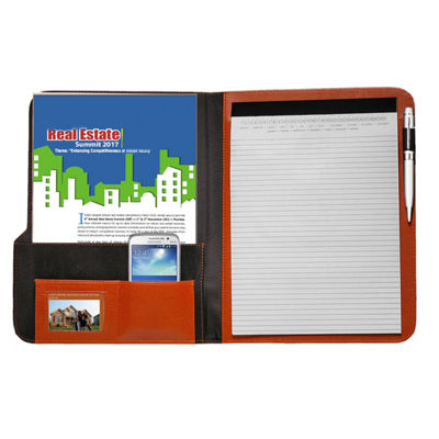 Natico Originals Padfolio Two-Tone 12.5x10