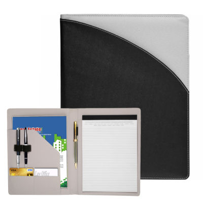 Natico Originals Padfolio Two-Tone 13.25x10