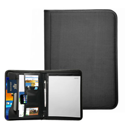 Natico Originals Padfolio Zippered 13.5x10