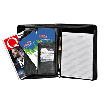 Natico Originals Padfolio Zippered 13x10