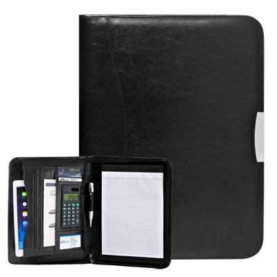 Natico Originals Padfolio Zippered 13.87x10.37