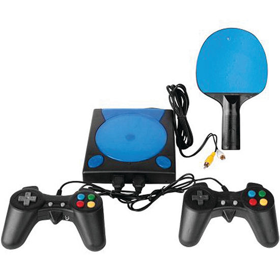DreamGear DGUN-2558 My Arcade Game Station with 191 Games, 2 Controllers and Wireless Paddle