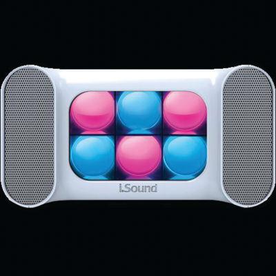iSound Mini Dancing Lights Bluetooth Speaker