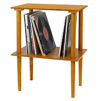 Victrola Wooden Stand with Record Holder Deals