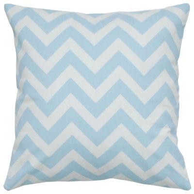 """Rizzy Home Chevron Square Throw Pillow - 18"""" x 18"""""""
