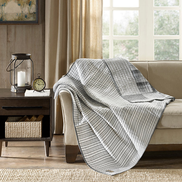 Woolrich Riverview Oversized Reversible Throw
