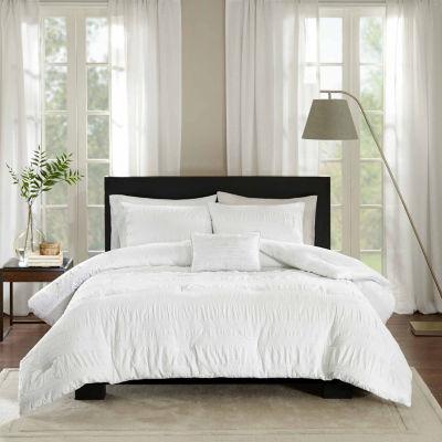 Madison Park Kate Cotton 4-pc. Comforter Set