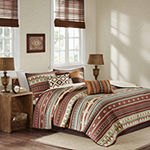 Madison Park Davy 6-pc. Coverlet Set