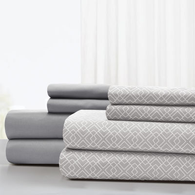 Pacific Coast Textiles Labryinth 8-pc. Sheet Set