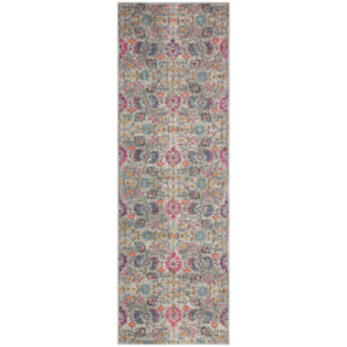Brent Polypropylene & Cotton Machine Made Area Rug