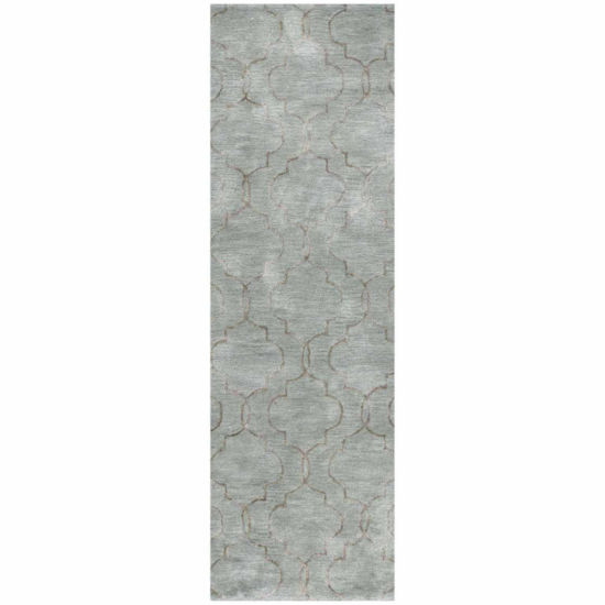 BROOKE WOOL & VISCOSE HAND TUFTED AREA RUG