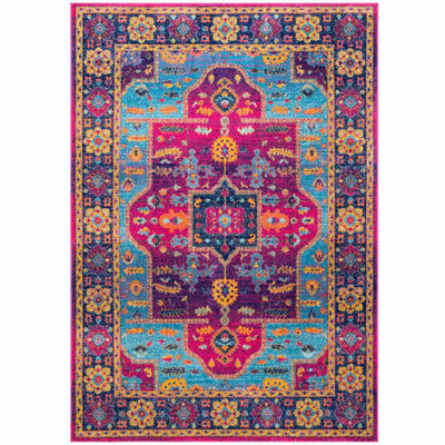 nuLoom Tenesha Tribal Medallion Rug