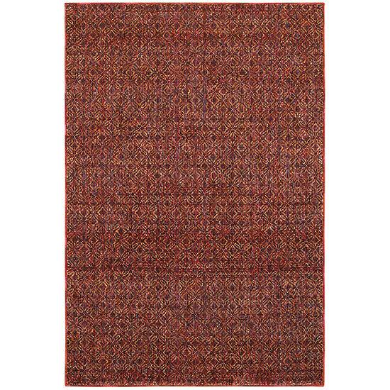 Covington Home Avante Ruby Rectangular Indoor Rugs