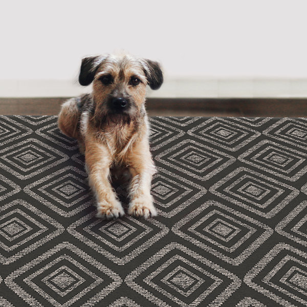 RUGGABLE Prism Washable Indoor/Outdoor Stain Resistant Pet Rug
