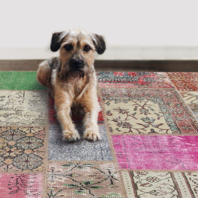 Ruggable Patchwork Rectangular Rugs