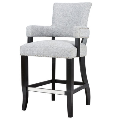 Madison Park Parler Arm 26-Inch Counter Stool