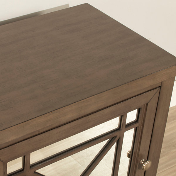 Possibilities Mirrored Nightstand