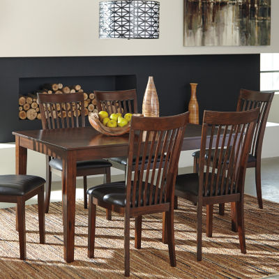 Signature Design by Ashley® Rushville 7 Piece Rectangular Dining Set