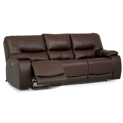 Motion Possibilities Quick Ship Wallace Metro Pad-Arm Reclining Sofa