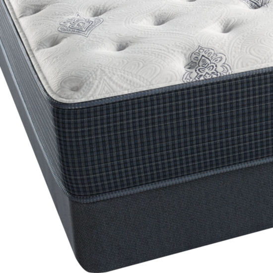 Simmons™ Beautyrest Silver® Kiera Cove Plush - Mattress + Box Spring