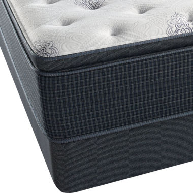 Simmons™ Beautyrest Silver® Kiera Cove Pillowtop Luxury Firm - Mattress + Box Spring