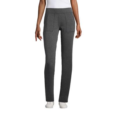St. John's Bay Active French Terry Pants (Slim Leg)