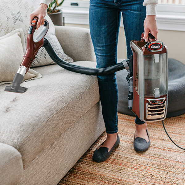 Shark®  Duoclean™ Powered Lift-Away Speed™ Upright Vacuum-Nv801