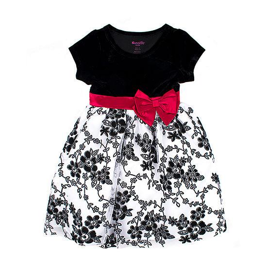 315f08118a11 Nanette Baby Short Sleeve Empire Waist Dress - Toddler Girls - JCPenney