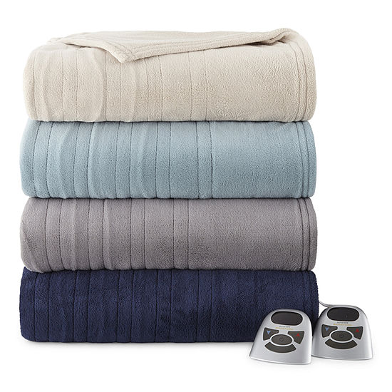 Sleep Well™ by Biddeford™ Heated Microplush Blanket
