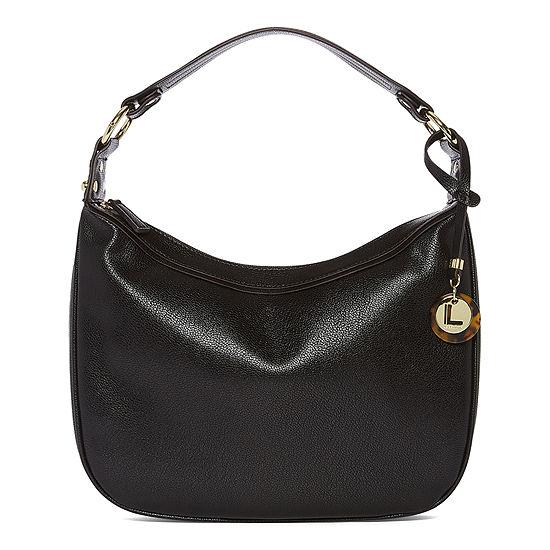 Liz Claiborne Faithe Top Zip Shoulder Bag