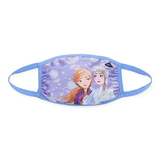 Kids Frozen Ana And Elsa Unisex Face Mask