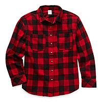 DaMohony Kids Plaid Shirt Baby Letter Print Shirt Long Sleeve Button-Down T-Shirt for Girls Boys 1-6 Years