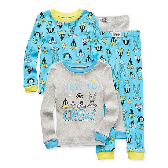 Toddler Boys 4-pc. Looney Tunes Pajama Set