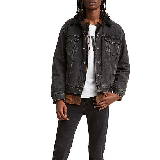 Levi's Sherpa Trucker Lightweight Denim Jacket