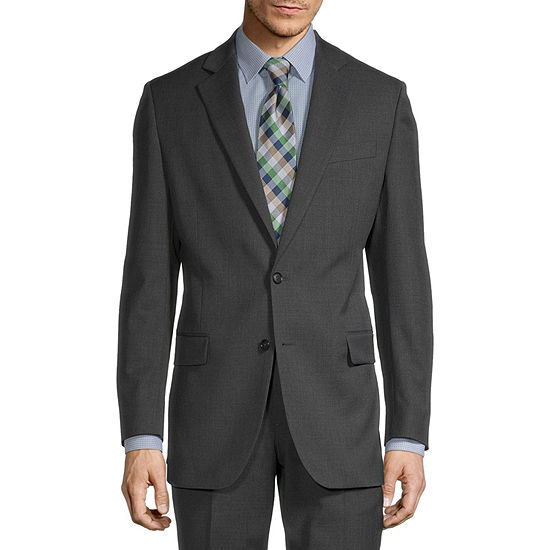 Stafford Super Suit Mens Stretch Classic Fit Suit Jacket-Big and Tall