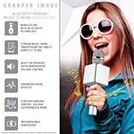 Sharper Image Musical Microphone Bluetooth Broadcaster