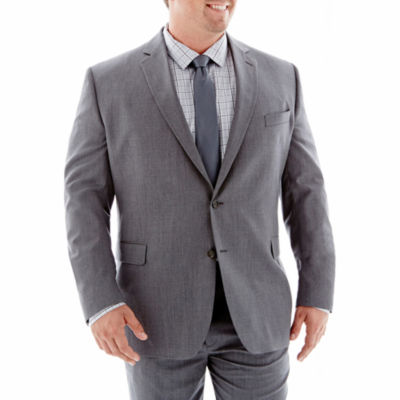 Stafford® Executive Super 100 Wool Suit Jacket – Portly