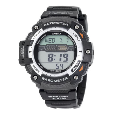Casio® Twin Sensor Mens Altimeter/Barometer Digital Sport Watch SGW300H-1AVCF